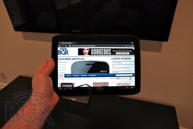Motorola DROID XYBOARD 10.1 tablet
