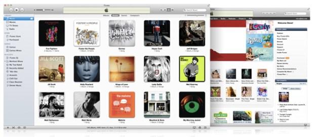 iTunes Redesign 2012