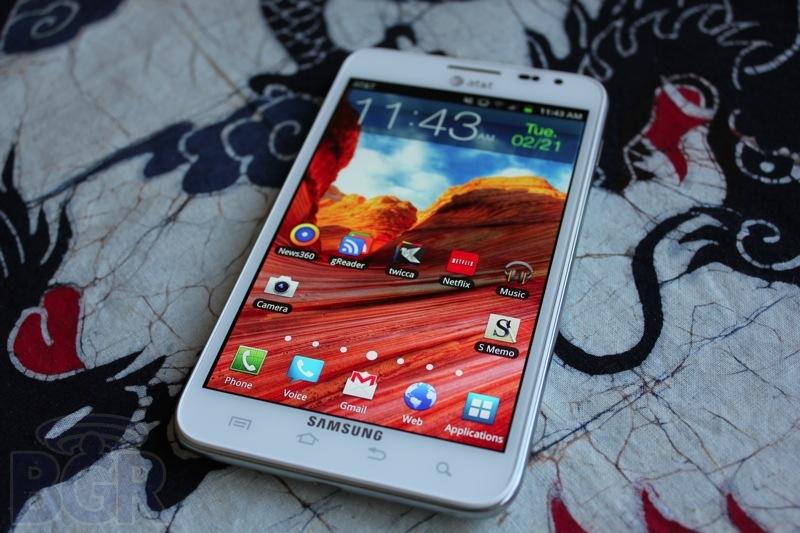 Samsung Galaxy Note Jelly Bean Update