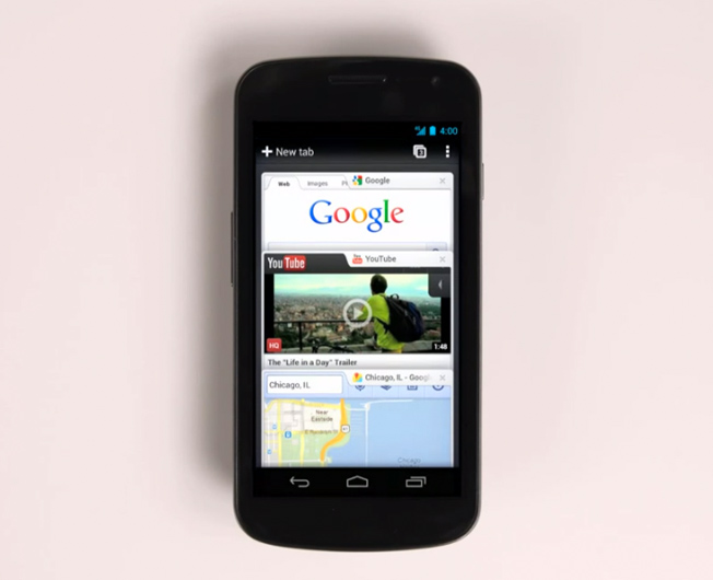 Google Chrome Android Released