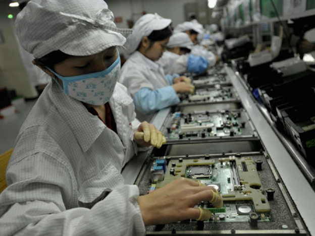 Foxconn Hired Underage Interns