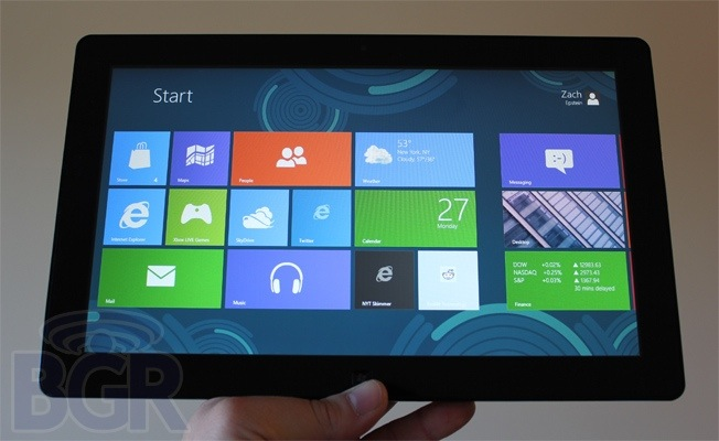 Microsoft WIndows 8 Tablet Rumor