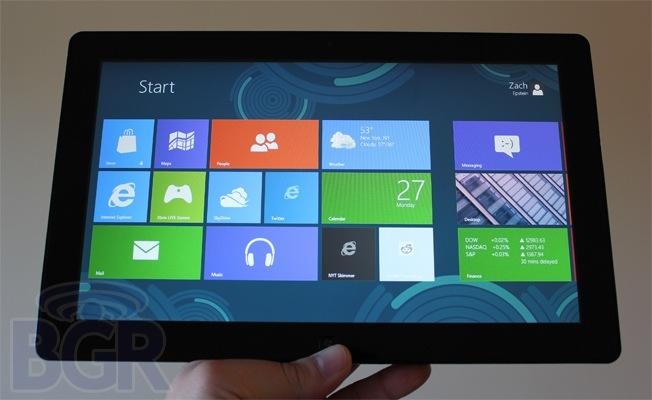 Microsoft WIndows 8 Tablet Rumor