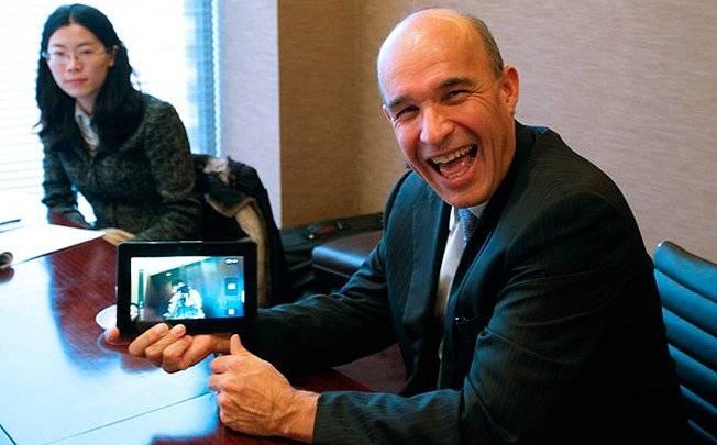 BlackBerry Co-CEO Balsillie Interview