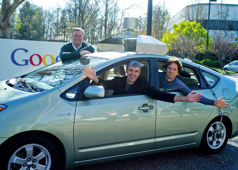 Google Self Driving Car Patent