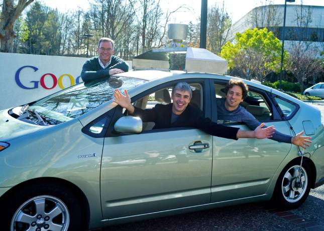 Google Driverless Car California