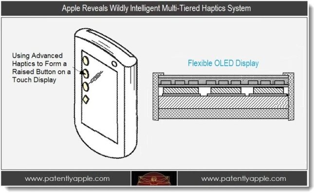 Apple patent reveals multi-tiered haptics system