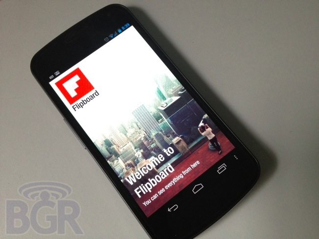 Flipboard for Android pulled from Galaxy S III, available for all