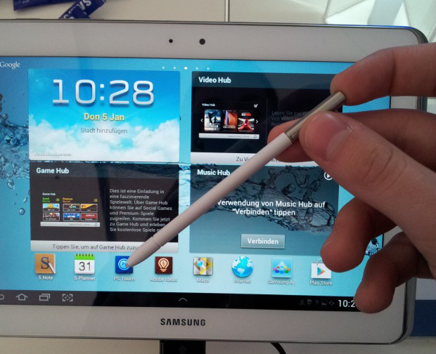 Samsung Galaxy Note 10.1 Redesigned