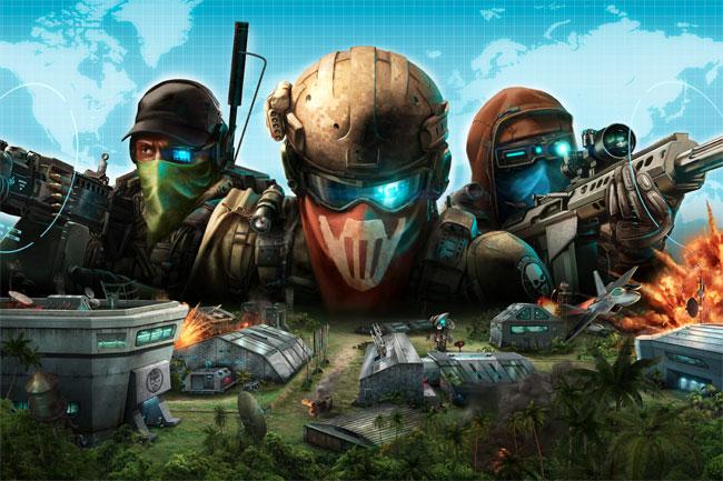 Ubisoft's Ghost Recon Facebook