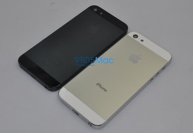 iPhone 5 parts leak
