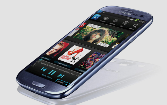 Samsung Music Hub Galaxy S III Smartphone