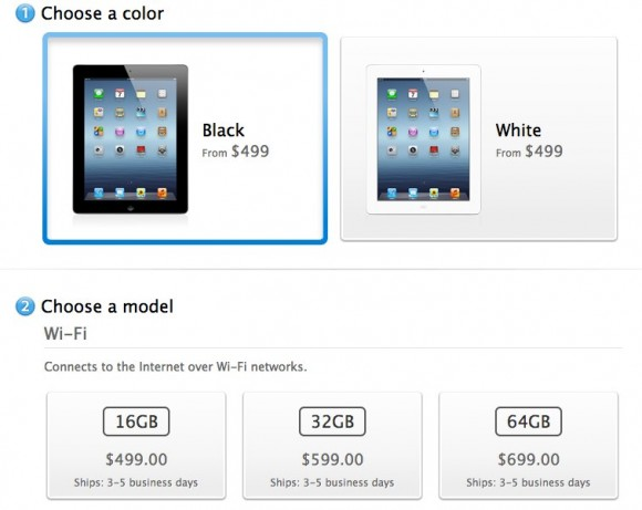 New iPad shipping delays improve