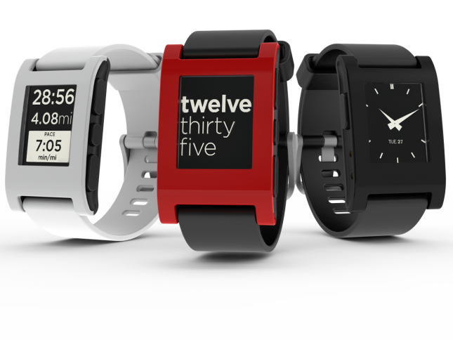 Pebble Smartwatch Sold Out