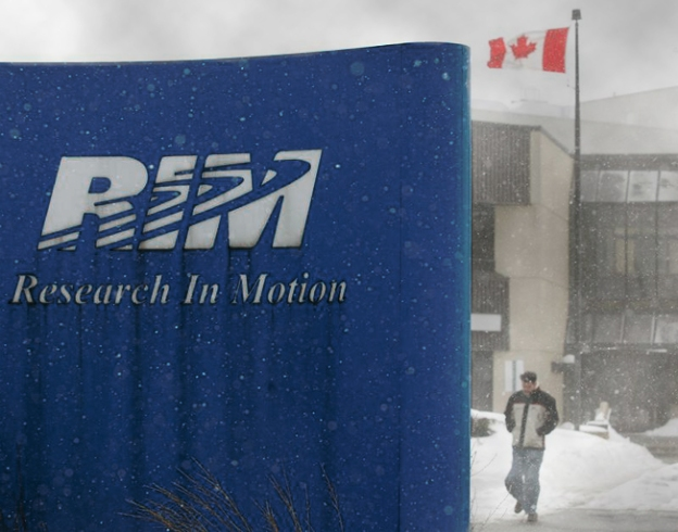 RIM hires JP Morgan, likely explores a sale of the company