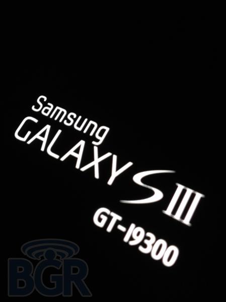 Samsung Galaxy S III photos