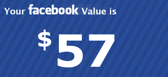 Facebook Val-You Calculator