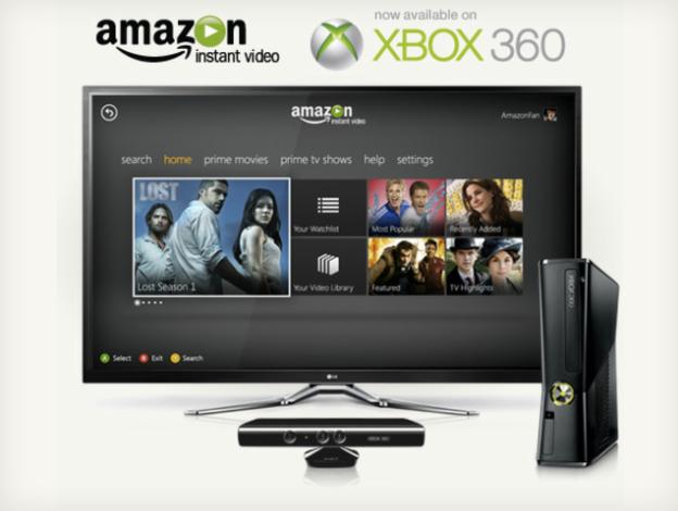 Xbox 360 Amazon Instant Video App