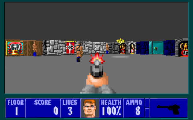 Wolfenstein 3D Free On iPhone, iPad, Web