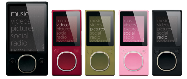 Apple iPod Killed Microsoft Zune