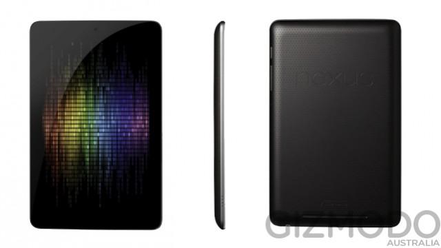 Google Nexus Tablet Specs