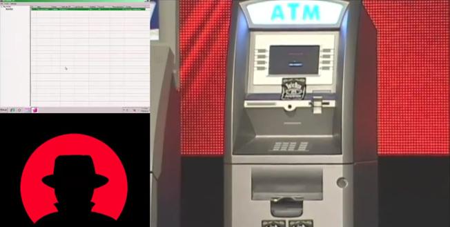 Windows XP ATM SMS malware