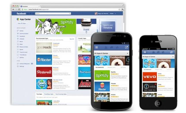 Facebook App Center Launch