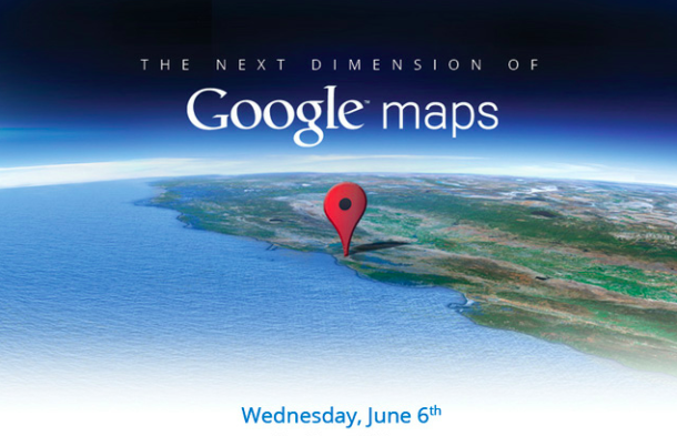 Google 3D Maps event to beat Apple by a touch