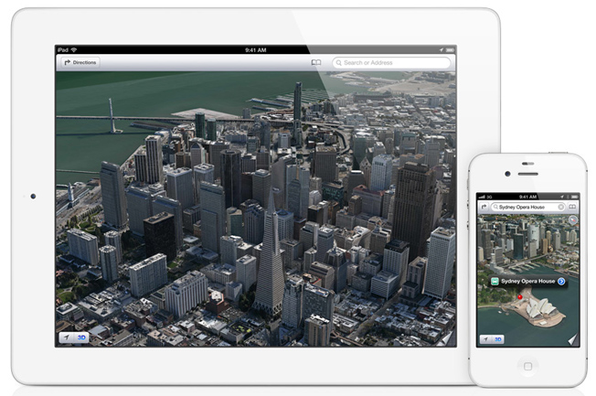 Apple iOS 6 Maps Features