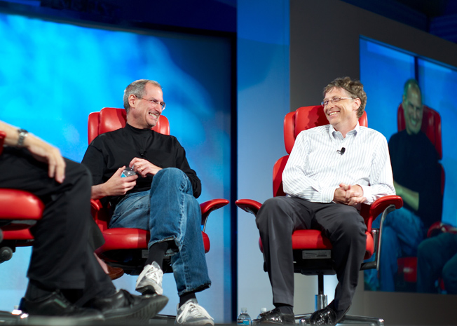 Steve Jobs Forgotten Bill Gates Honored