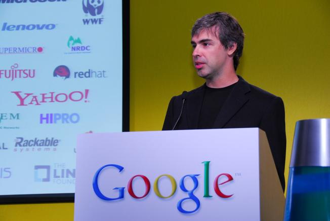 Google CEO Page
