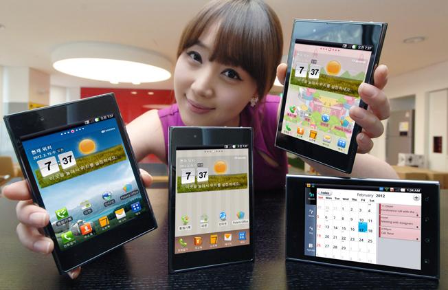 LG Optimus Sales 2012