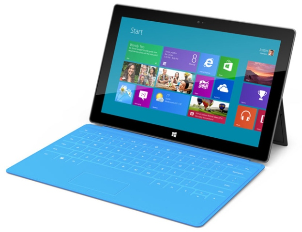 Microsoft Surface tablet sales