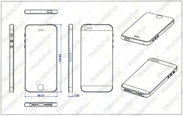 Apple iPhone 5 Rumor Leaked Cases