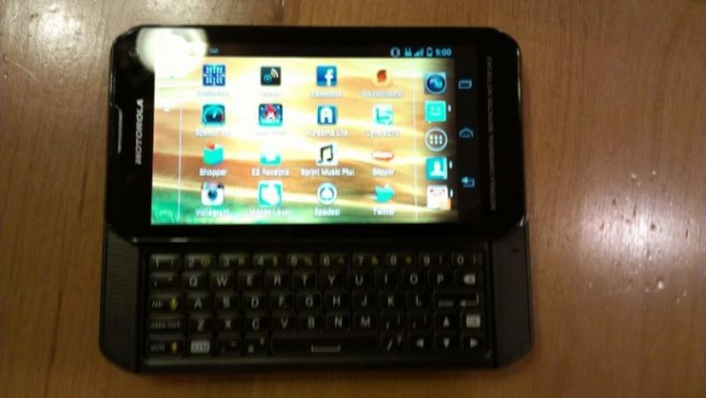 Motorola Photon Q Sprint QWERTY Slider
