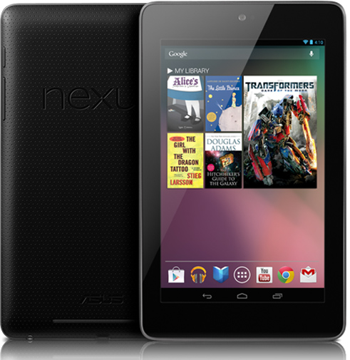 Nexus 7 iPad Comparison