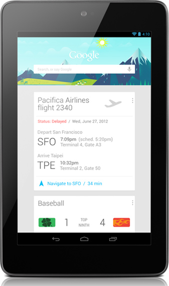 Nexus Tablet Announcement Pricing Specs