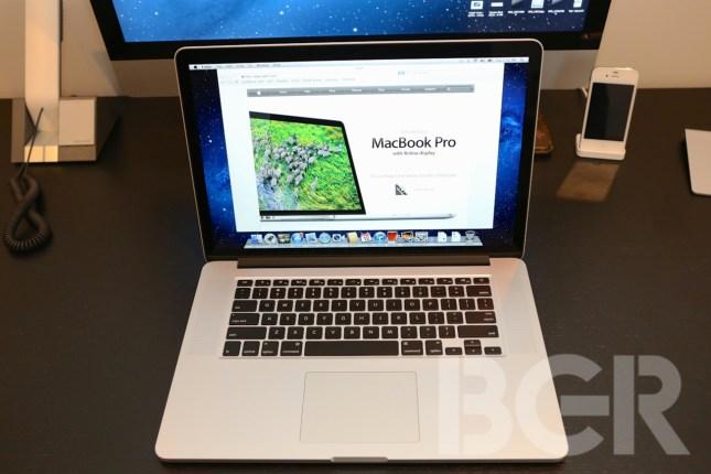 MacBook Pro Retina Display Hands-on