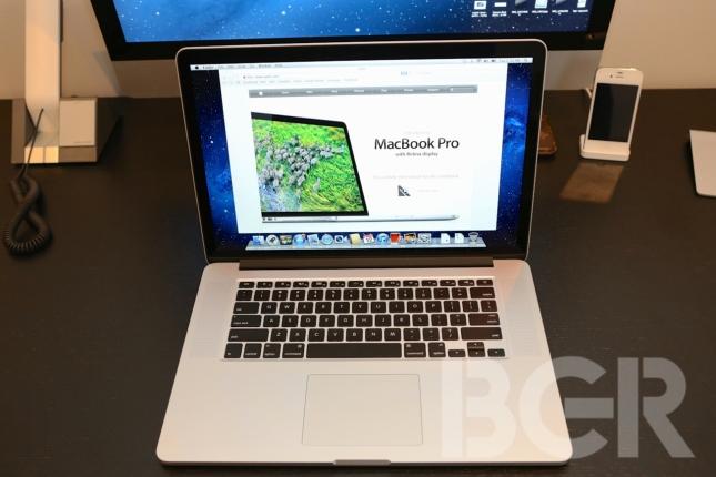 MacBook Pro Retina Display Hands-on