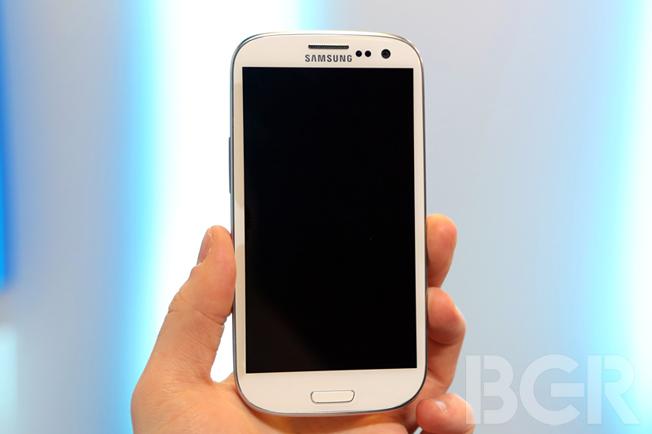 Galaxy S III Sales 2012