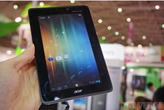 Acer Iconia Tab A110 Tablet Unveiled