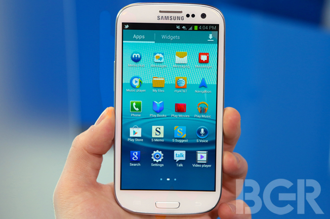 Data Transfer iPhone Galaxy S III