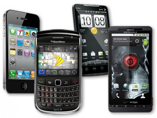 Smartphone Market Share Q2 2012