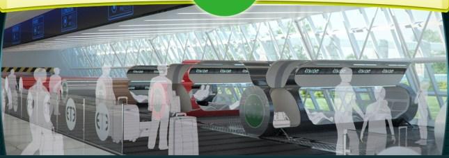 Vactrain Future Of Travel