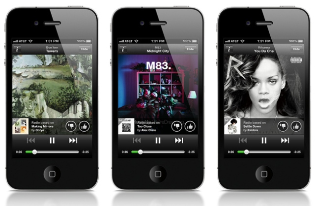 Spotify Radio iPhone iPad