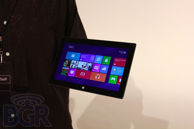Microsoft Surface Hands On