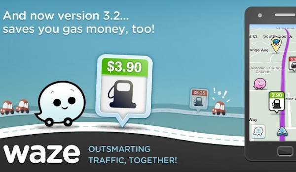 Waze Social Navigation Cars