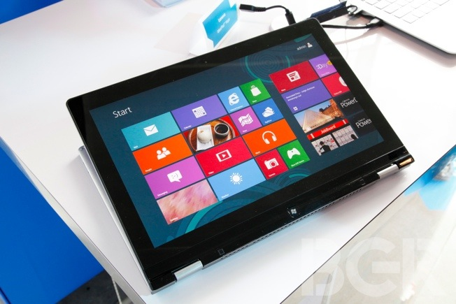 Windows 8 Ultrabook Tablet Hands-on