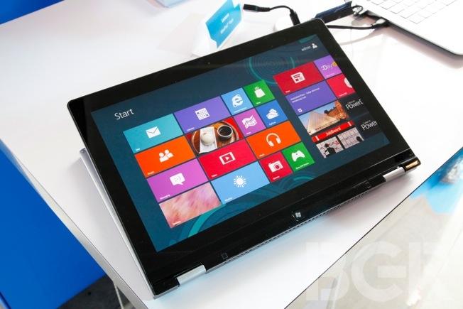 Windows 8 Ultrabook Tablet Hands-on