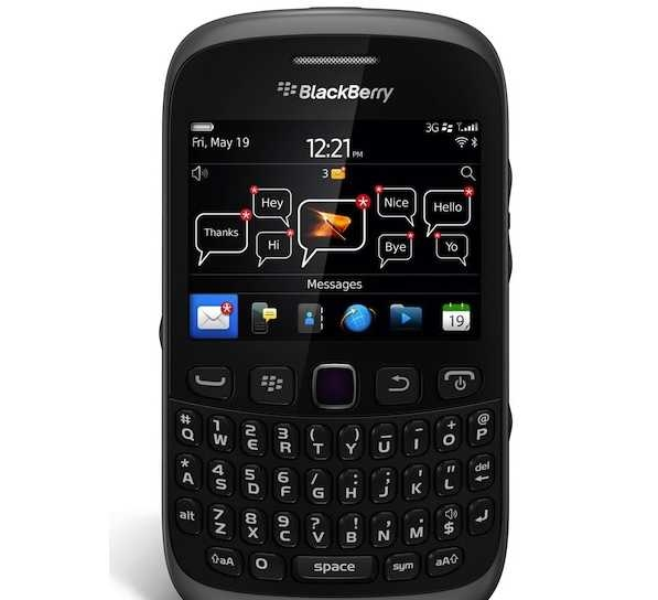 BlackBerry Curve 9310 Release Date